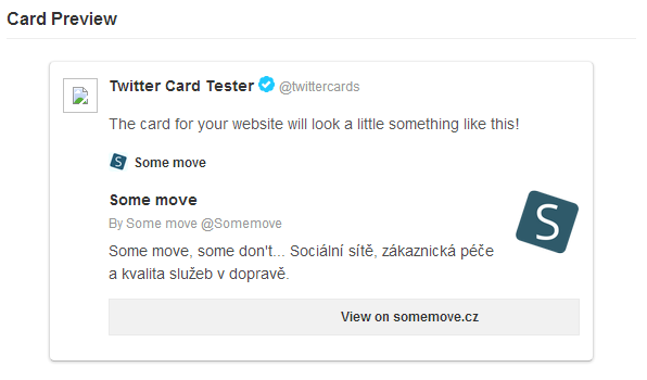 Test Some move Twitter Card (summary)